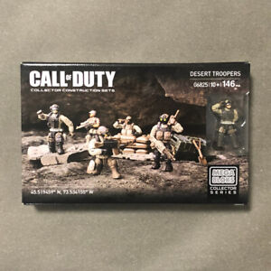 Mega Bloks Construx Call of Duty 06825 Desert Troopers *Factory New Sealed* Toy
