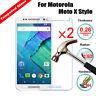 2Pcs 9H Slim Tempered Glass Screen Protector Film For Motorola Moto E3 3rd Gen