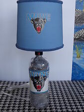 Sports Table/Desk Lamp (Hand-Painted Univ. of Maine Logos & Shade)