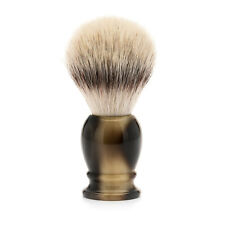 Muhle 33K252 Synthetic Silvertip Fibre Shaving Brush with Faux Horn Handle - LRG