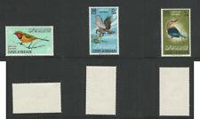 Jordan, Postage Stamp, #C26-C28 Mint NH, 1964 Birds, DKZ
