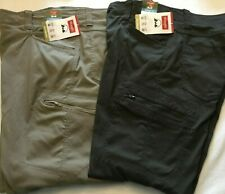 NWT MEN'S Wrangler Cargo Straight Fit Pant Nylon Flex Performance Flex Waist