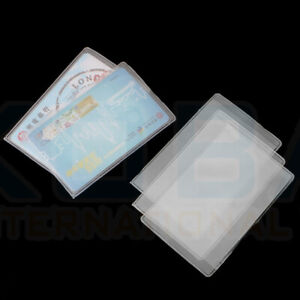 Credit Debit Card Driving Licence Dust Protector ID Sleeve Cover Holder Wallet