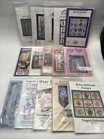 Lot Of 15 Quilt & Othe Patterns - Myomi Innovations Vintage - See Pictures