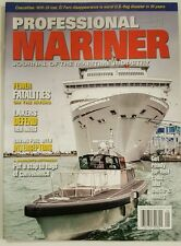 Professional Mariner Fewer Fatalities Saving Fuel Dec Jan 2016 FREE SHIPPING JB