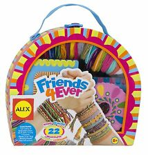 Loom Friendship Bracelet Kit Floss Beads Jewelry Making Multicolor Craft Girls