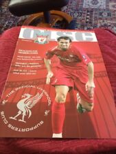 Official Liverpool Supporters Club Exclusive Magazine December 2005