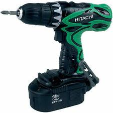 Hitachi DS18DVF3 18 Volt Ni-Cad 1/2 in. Drill Driver Kit  w/Full Warranty