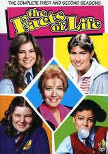 The Facts of Life - The Complete First and Second Seasons (DVD 2006, 4-Disc Set)