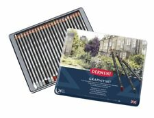 Derwent Professional Graphitint 24 Colour Tin Set of Tinted Watersoluble Pencils