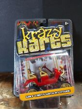 Toy Zone Krazy Karts Golf Carts ATV Red & Gold 4 Seat Lifted Diecast Model VHTF