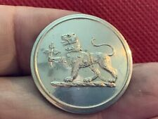 Hervery-Bathurst Leopard Gorged/Chained 27mm S/P Livery Button Reynolds 1861-75