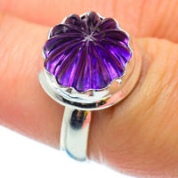 Amethyst 925 Sterling Silver Ring Size 6.5 Ana Co Jewelry R34832F