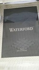 Waterford  Lismore diamond 5 X 7 picture  frame