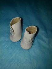 "8""doll shoes white high top old store stock MADAME ALEXANDER"