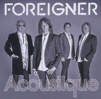 """FOREIGNER """"ACOUSTIQUE"""" CD 14 TRACKS NEU"""