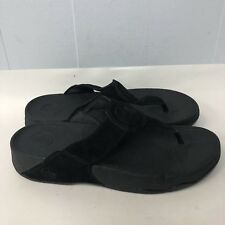 Fitflop Sandals Women Size 11 Black Color Great Condition