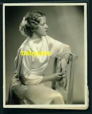 HELEN MARSHALL VINTAGE 8X10 PHOTO TAKEN BY BEN PINCHOT OF NY 1936 NBC RADIO STAR