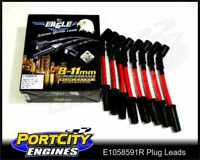 Eagle Spark Plug Leads 10.5mm Holden Chev V8 LS1 5.7L VT VX VY VZ Red E1058591R