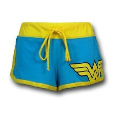 Wonder Woman Women's Short Shorts Blue