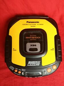 Panasonic SL-SW405 Portable CD Player XBS Shock Wave Fully Tested Made in Japan