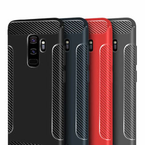 Luxury Ultra Shockproof fibre Case Cover for S9 Plus S9 S8 Plus S7 Note 9 Note 8