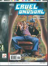 Cruel and Unusual 1 COVER PROOF McCrea `99 Low Morals ELECTRIC CHAIR VERTIGO ART