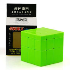 QIYI Top Smooth Mirror Block Magic Cube Stickerless Forever Color Solid Green