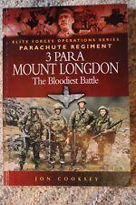 3 Para Mount Longdon - The Bloodiest Battle Falklands, 110 Seiten, TOP selten !