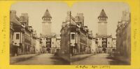 Dijon la Torre Francia Foto Stereo BK Parigi Vintage Albumina Ca 1870