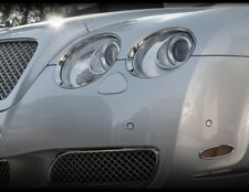 Bentley GT and GTC Chrome Headlight Surround Upgrades Complete Set 2003-2009