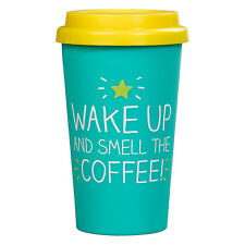 Svegliati e odora le! Tazza da viaggio caffè Da Felice Jackson e Wild & Wolf