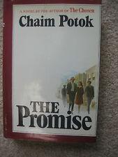 The Promise - Chaim Potok  - Jewish Novel -1969 HC/Dust Jacket - First Edition