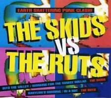 RUTS, THE vs. SKIDS, THE Split CD (1992 Virgin)