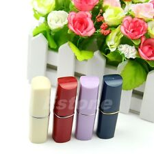 1PC Secret Lipstick Shaped Stash Medicine Pill Pills Box Holder Organizer Case