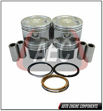 Piston & Ring Kit  Fits Honda Accord CR-V 2.4 L K24A1 DOHC - SIZE STD