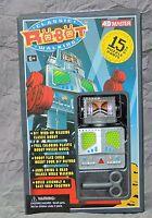 Jouet de l'Espace. Robot à construire. Modèle argenté 21 cm. Chine 2009