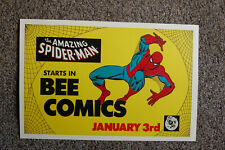 Spider-Man Bee Comics pomotional poster 1977