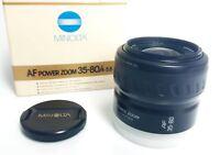 Minolta Af Power Zoom 35-80/4-5,6