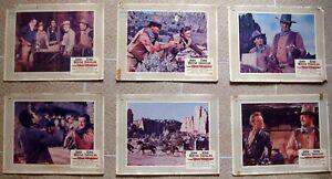 """WAR WAGON (6) US Lobby Card 11x14"""" John Wayne Western Film Movie Film 1967 Good"""