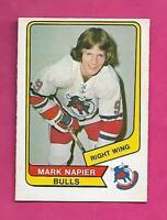 RARE 1976-77 OPC WHA # 108 BULLS MARK NAPIER NRMT CARD (INV# C5601)