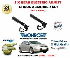 FOR FORD MONDEO + ECOBOOST 2007-2014 2X REAR ELECTRIC ADJUST SHOCK ABSORBERS SET