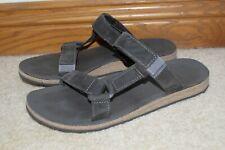 Teva Universal Slide Leather Gray Size 10