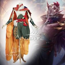 League of Legends Newest Skin LOL Rakan Costume Cosplay Comic Con Fancy Dress