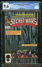 SECRET WARS #4 (1984) CGC 9.6 1st PRINT MARVEL WHITE PAGES