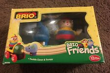 30386 Brio Friends Wooden Train Freddie Clown & Trumpy! New! Thomas