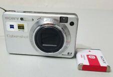 Sony Cyber-shot DSC-W150 8.1MP Digital Camera - Silver *Good/tested*