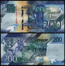 KENYA 200 SHILLINGS (P NEW) 2019 ZZ REPLACEMENT UNC