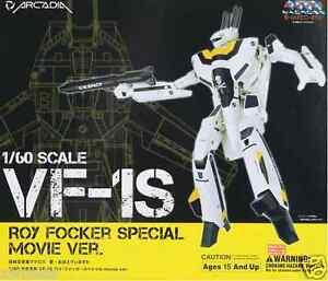 Used Arcadia Macross VF-1S Roy Focker Special Movie ver. 1:60