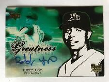 Ruddy Lugo 2006 UD Future Stars Clear Path To Greatness Signature RC #102